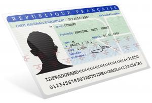 carte identité specimem