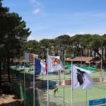 Le Tennis Club au coeur de la pinède